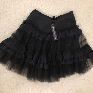 Elizabeth and James black tutu skirt